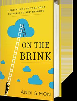 Andi simon Book On the Brink